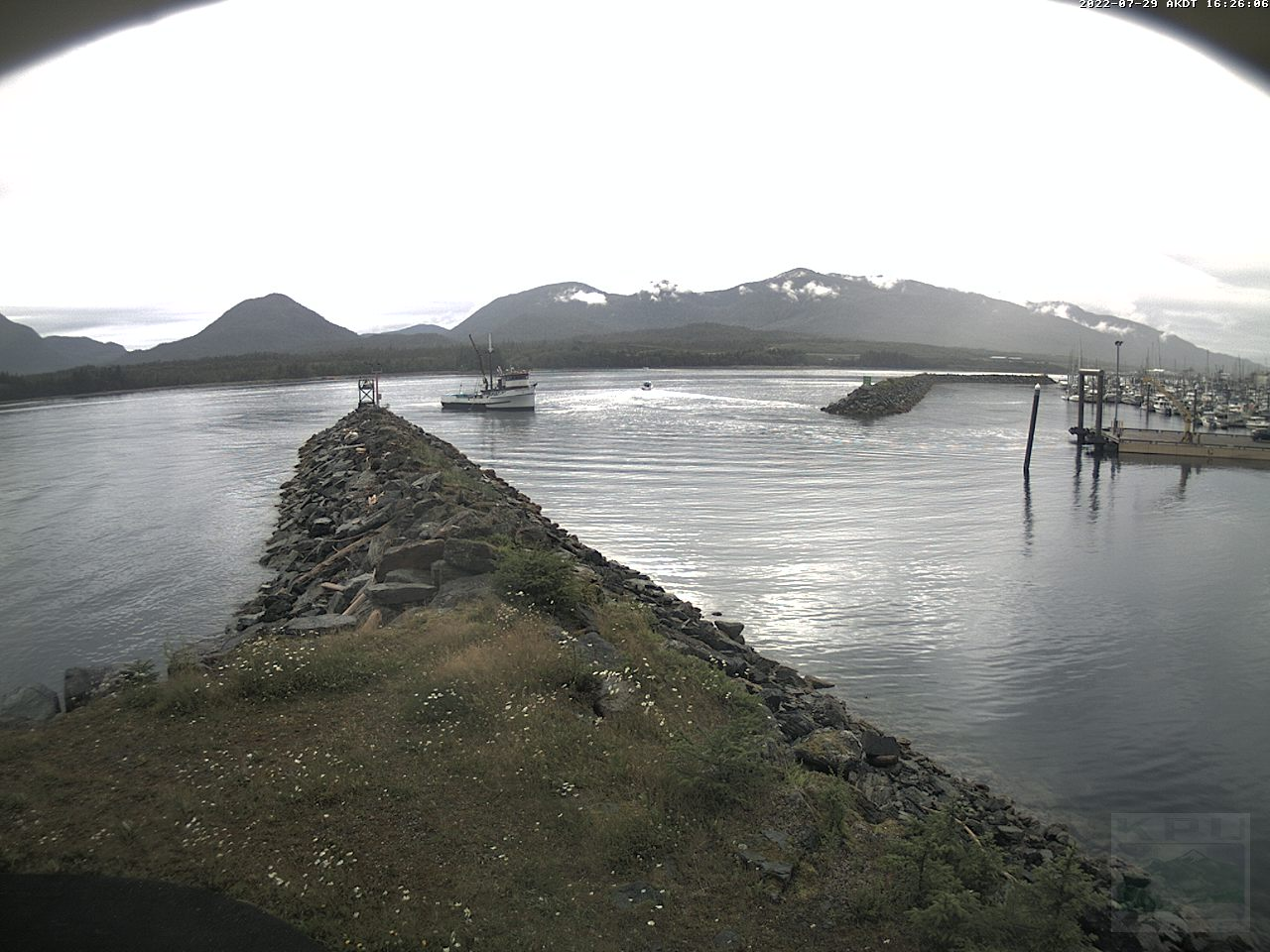 Current Ketchikan Webcam #4 Alaska-sized Image