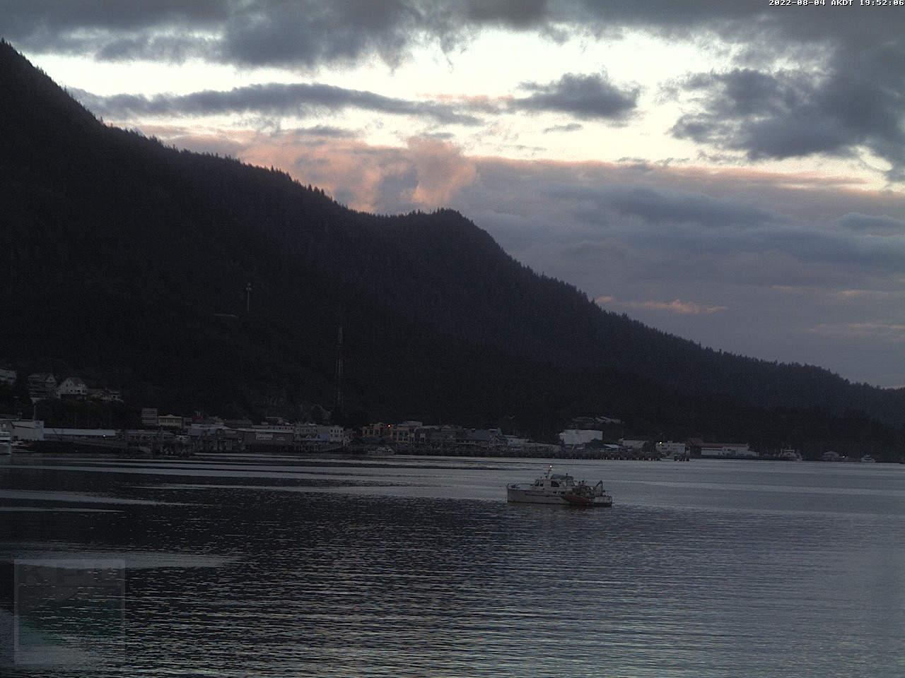 Ketchikan Webcam 3 pointing downtown